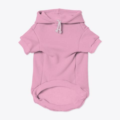 Namaste Pet Hoodie Light Pink T-Shirt Front