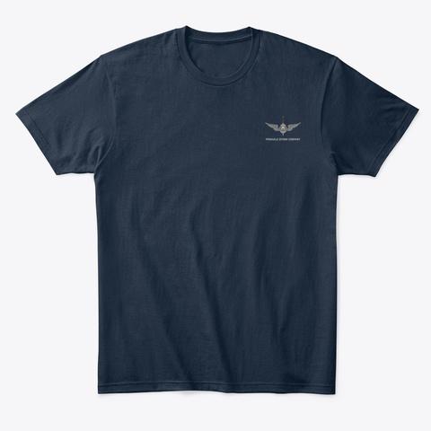 Pdc Rescue Shirt Men's 2 New Navy T-Shirt Front