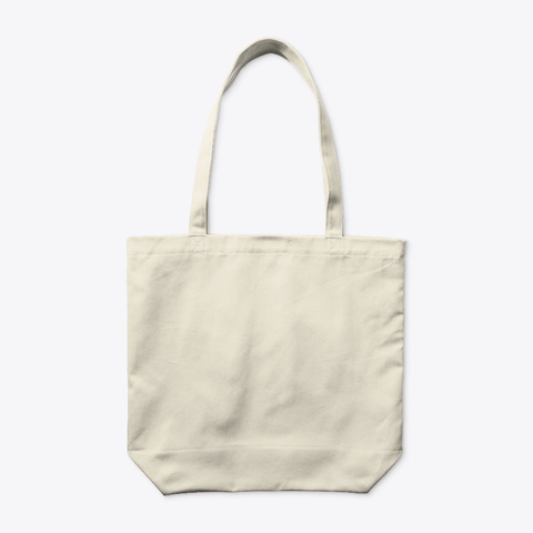 L'ombre Du Soleil   Tote Bag Coton Bio Natural T-Shirt Back