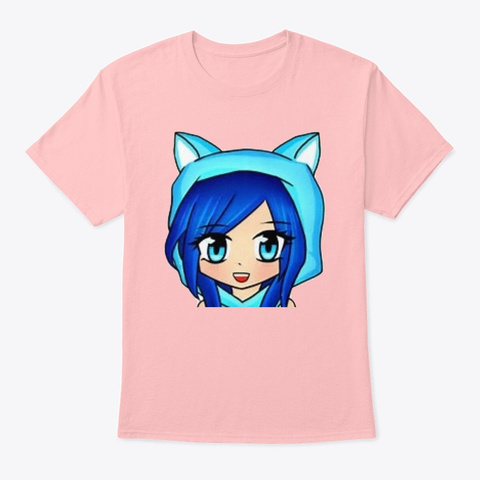 Its Funneh Wolfie Shirt Pale Pink T-Shirt Front