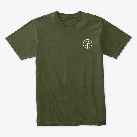 Premium Shirt By Redpilot Military Green T-Shirt Front