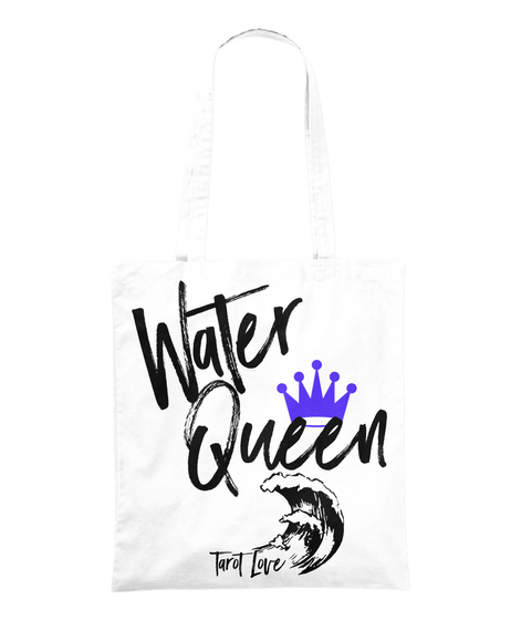 Water Queen White T-Shirt Front