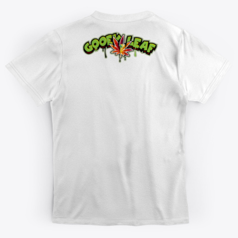Gooey Tye Teez Standard T-Shirt Back