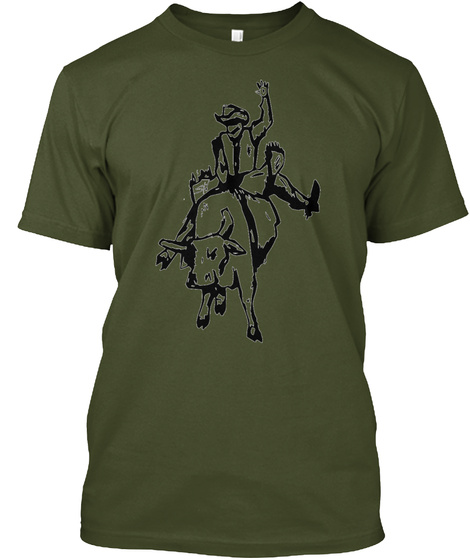 Spur One Men's Tee Military Green T-Shirt Front