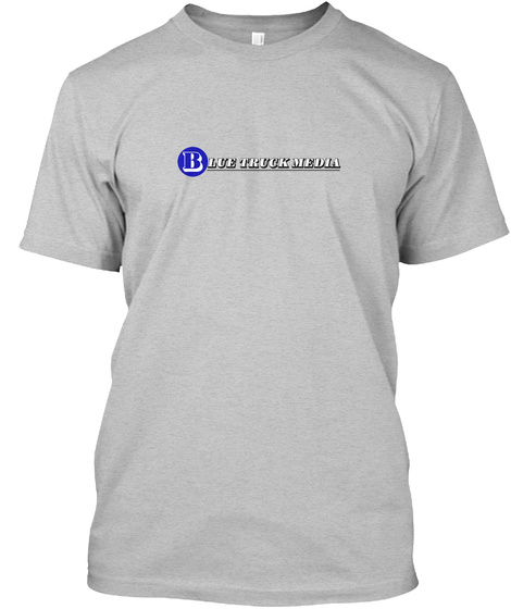 Btm T Shirt Light Heather Grey  T-Shirt Front