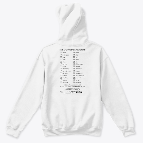 An Error Occurred. Please Check Your Internet Connection. Arctic White T-Shirt Back