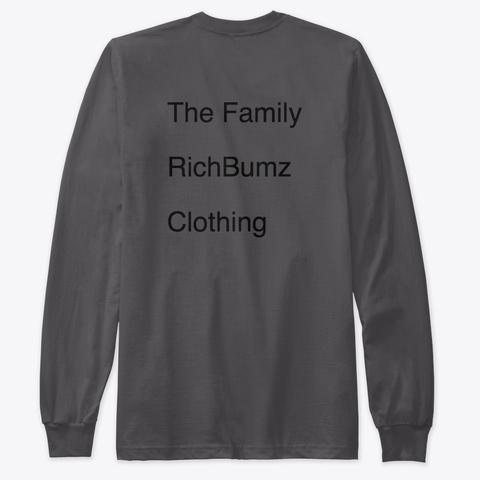 Rich Bumz Ent Crew Long   Sleeve Shirt   Heavy Metal T-Shirt Back