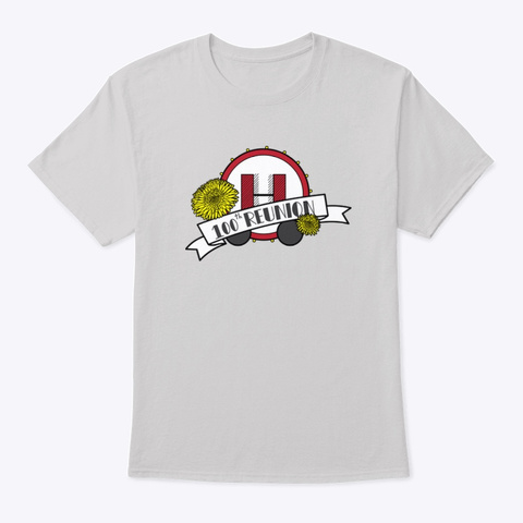 Alternate Logo Apparel Version 2.0! Light Steel T-Shirt Front