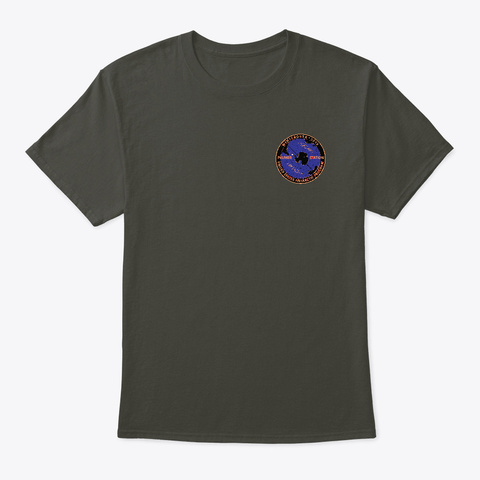 2019 Winterover Smoke Gray T-Shirt Front