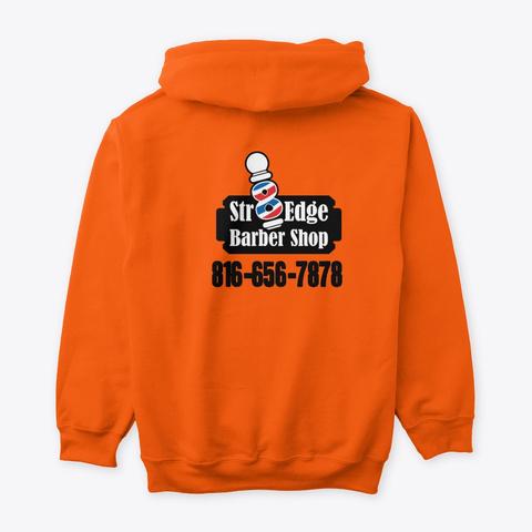 Blurry Vision Safety Orange T-Shirt Back