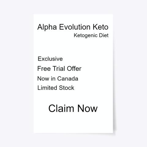 Alpha Evolution Keto™ Canada   Trial Standard T-Shirt Front