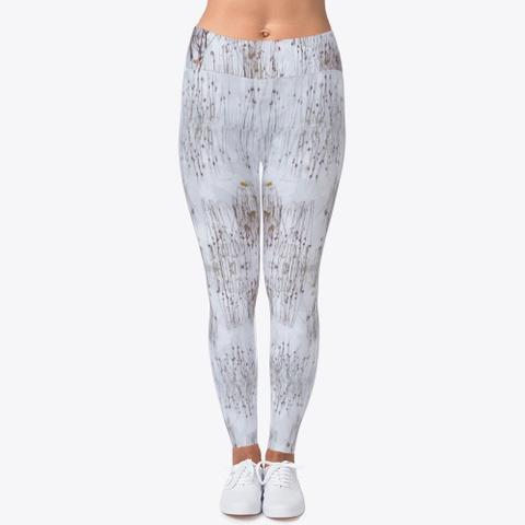 Snow Camo Leggings Standard T-Shirt Front