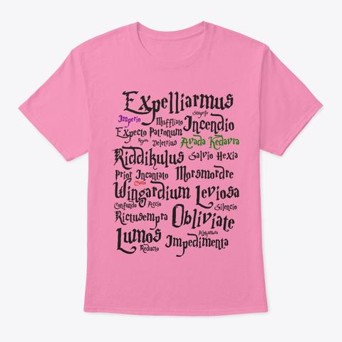 T Shirt Mágica De Hechizos Pink T-Shirt Front