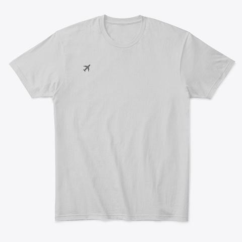 Avinations Shirt Light Heather Grey  T-Shirt Front