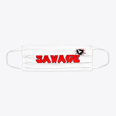 Savage Mask Standard T-Shirt Flat