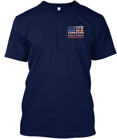 Nana American Original Navy T-Shirt Front