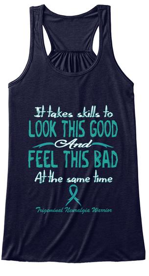 Trigeminal Neuralgia Awarenes Midnight T-Shirt Front