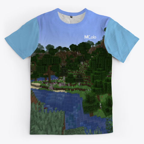 édition Limitée   M Colo Light Blue T-Shirt Front