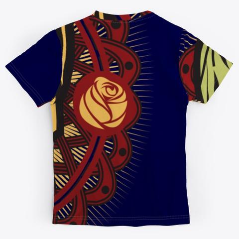 Dia De Los Muertos Dark Navy T-Shirt Back