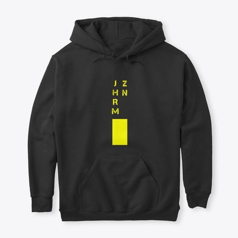 Jehrome Zone   Vwls Black T-Shirt Front