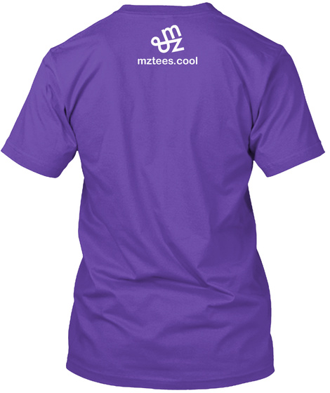 Unicode Tshirt Purple Rush T-Shirt Back