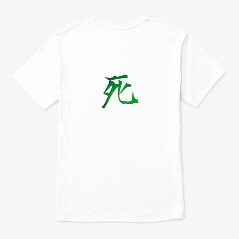 Watashiwashinda White T-Shirt Back