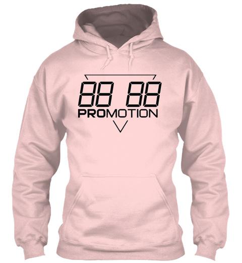 88 88 Promotion Light Pink T-Shirt Front