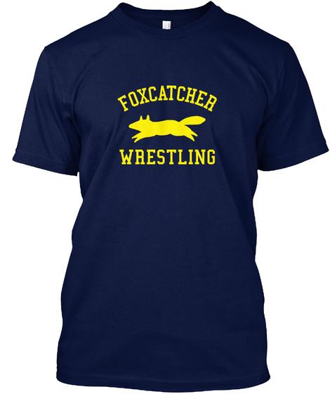 Foxcatcher Wrestling Navy T-Shirt Front
