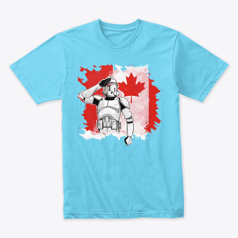 Canada Day Exclusive 2019 Tahiti Blue T-Shirt Front