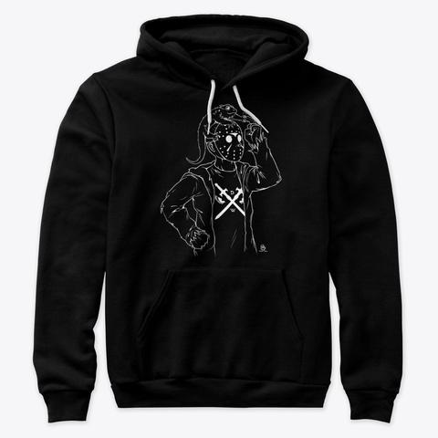Dream Warrior Jason Black T-Shirt Front