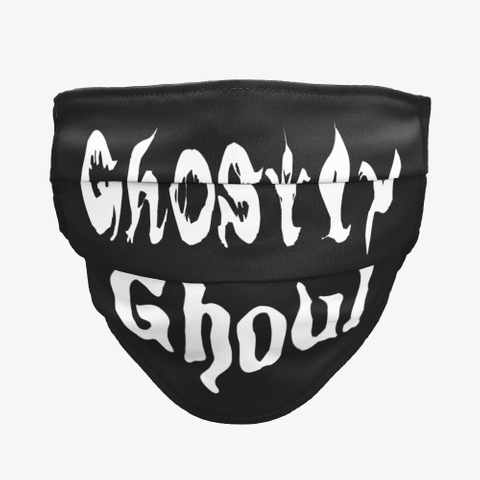 Ghostly Ghoul Black T-Shirt Front