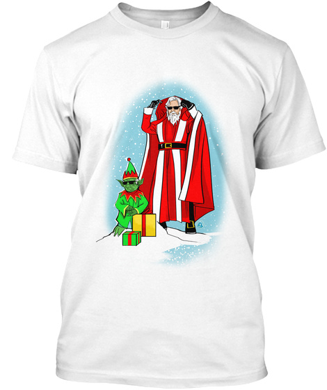 The Last Christmas White T-Shirt Front
