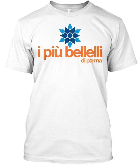 I Piu Bellelli Di Parma White Maglietta Front