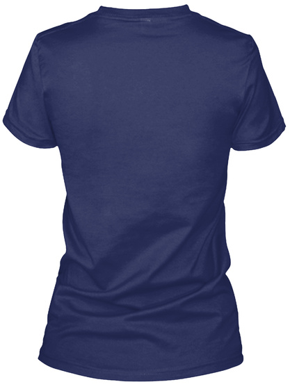 대박! Midnight Navy Women's T-Shirt Back