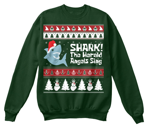Shark! The Harold Angels Sing Deep Forest  T-Shirt Front