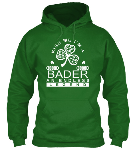 Kiss Me I'm A Barder An Endless Legend Irish Green T-Shirt Front