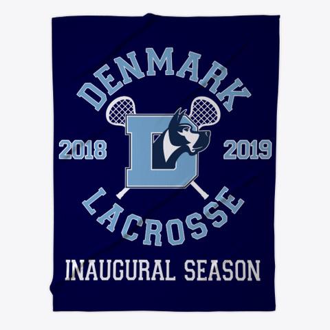 Denmark High Lacrosse Dark Navy T-Shirt Front