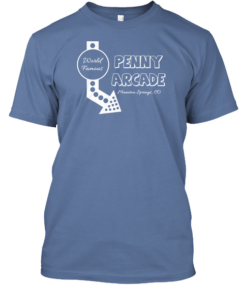 Manitou penny arcade tank products teespring for T shirt printing in colorado springs