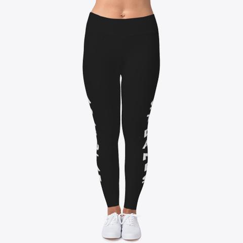 Leggings Moab Style Black T-Shirt Front