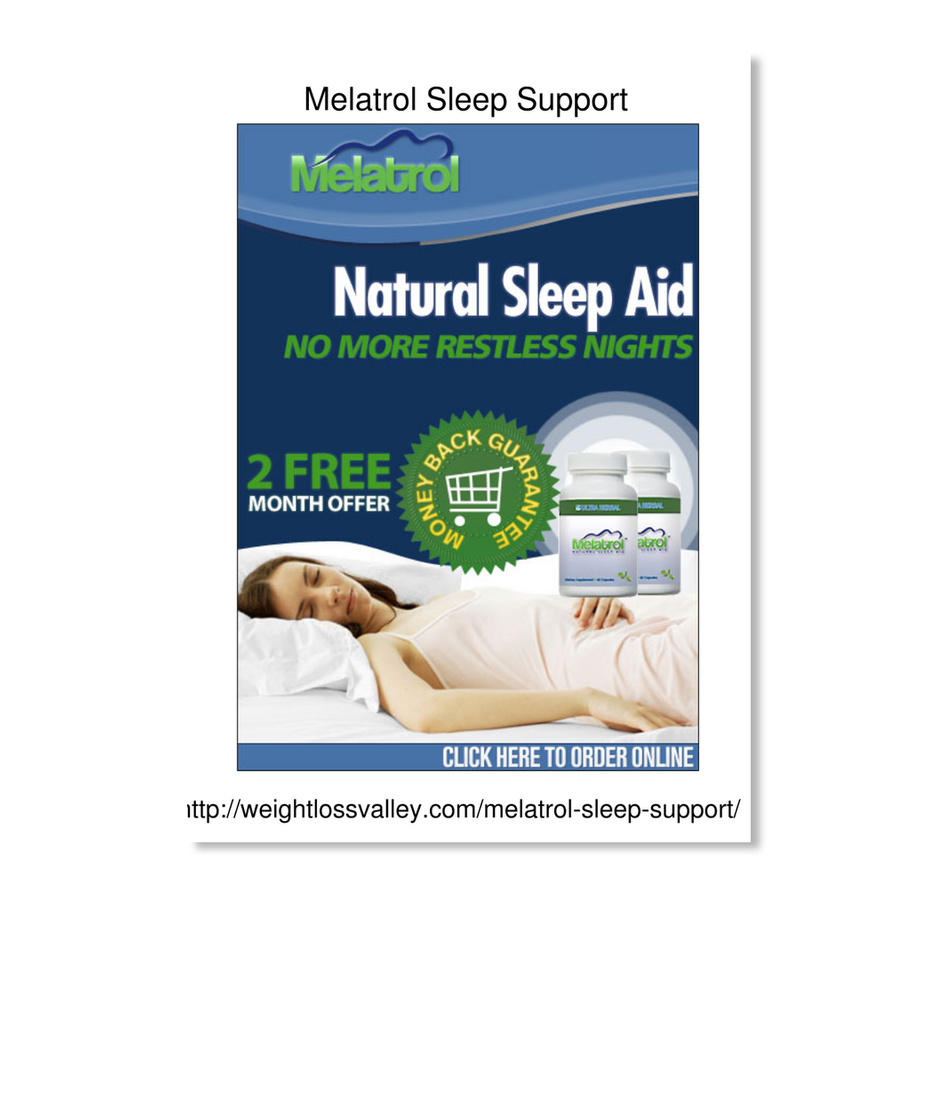 Weightlossvalley Com Melatrol Sleep Supp Melatrol Sleep Support