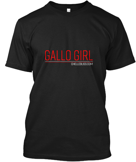 Gallo Girl Chellebliss, Com Black Maglietta Front