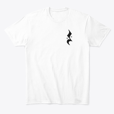 Fitted Color Hh Uke  White T-Shirt Front