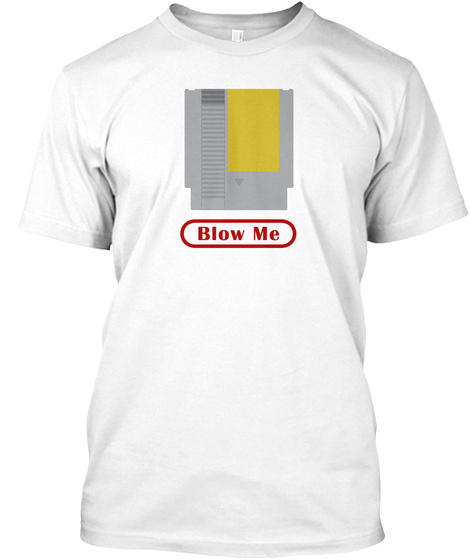 Below Me White T-Shirt Front