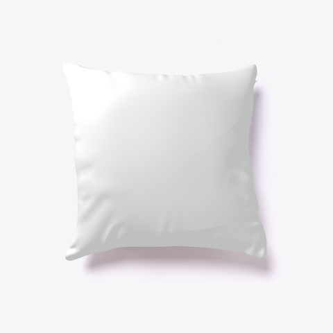 Water Lily Bloom Pillow #Boosted Pillow Standard T-Shirt Back