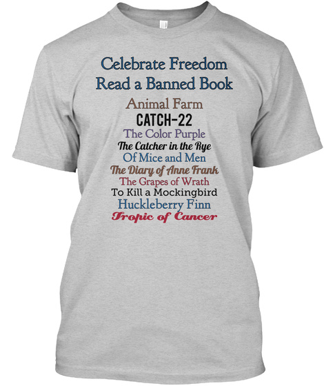 Celebrate Freedom Read A Banned Book - celebrate freedom read a ...