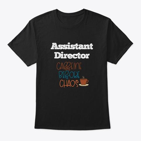 [Theatre] Assistant Director   Caffeine Black T-Shirt Front