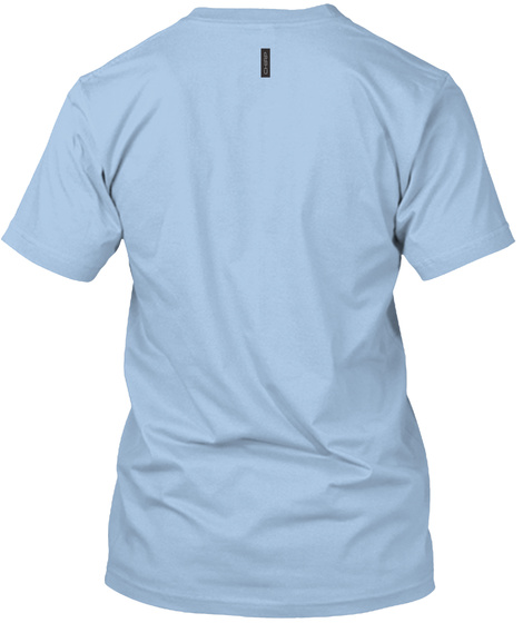 Chirp Apparel / Pervin' A Dish Athletic Blue T-Shirt Back