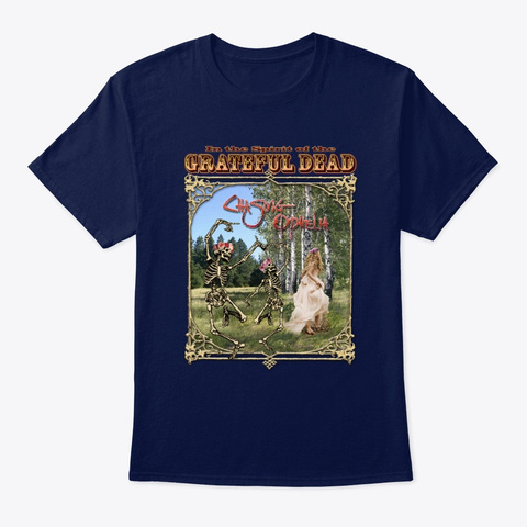 Chasing Ophelia Navy T-Shirt Front