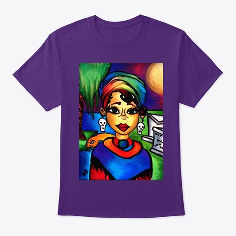 Queen Laveau Purple T-Shirt Front