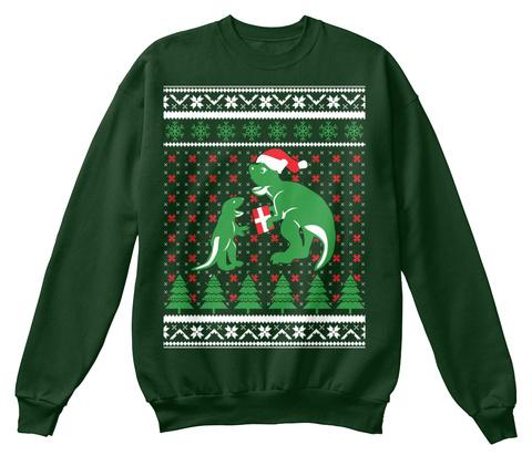 Dinosaur Christmas Sweater.Dinosaur Ugly Christmas Sweater